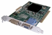 IBM 1980 Matrox GXT135p PCI DVI-VGA Video Card 03N5855