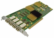 IBM 22R0463 PCI-x FC 4-Port 2GBit Longwave Card 22R0462 Fibre Channel Quad P4 Card