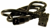 IBM 250v Q89029 Black 4ft Angled Power Cord 21J0024 10-15a Cable
