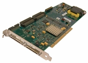 IBM 2xChannel U320 SCSI PCIx RAID Adapter Card 80P6515 53P2790 with Battery Card