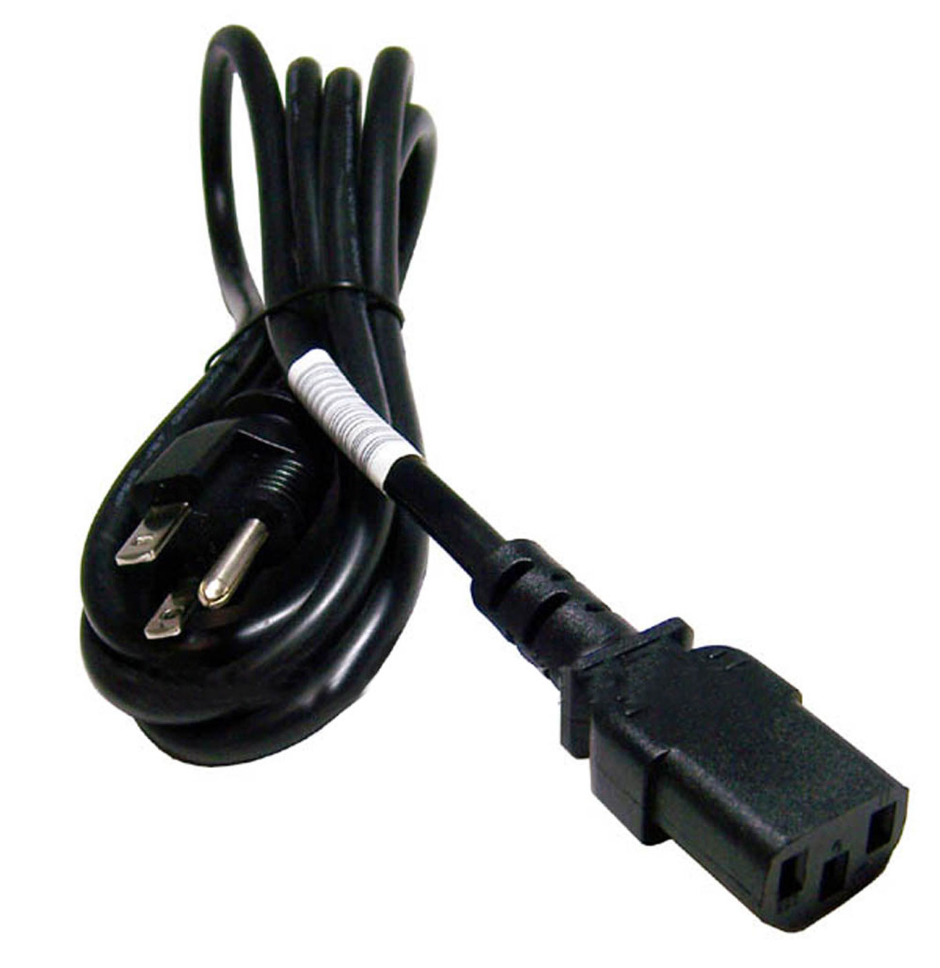 IBM 3-Prong LP-31 Black AC 6ft Power Cord 13F9959