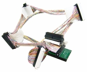 IBM 39Y9784 Ultra320 SCSI 4-Drop Cable NEW 39Y9785
