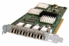 IBM 4-Port 2GB Fibre Channel PCI-x SW3 Adapter 22R6207 22R1721 Short Wave Host Card