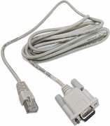IBM 40K9640 DB9-to-RJ45 White Cable Assy 40K9636