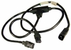 IBM 9309 T Power Cord ASM 89X2629 IBM Volex Black 3-Way