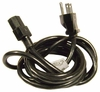 IBM Longwell 5-15P 10a 125v 9ft Power Cord 39M5081 Black Cable