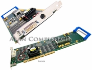 IBM Power GXT4000P DVI PCI Graphics Adapter 09P2429 3-Pin 09P1738 with Fan Card