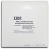 IBM157205-001 Configuration Ver3.0 Utility Disk 63H7474 6400 Line Printer Software