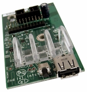 Intel SR1630 LED USB Control Panel Board E84052-101