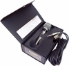 Jaton Dynamic Microphone Silver Black Kit NEW DM-565 Cannon Type Connector
