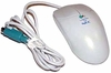NEC Logitec 2-Button M-S42 Beige PS2 Mouse 160413