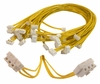 Lot-13 12in Wake-On-LAN Cable New WOL-CABLE-L13 3-Wire Yellow 07-0371-000