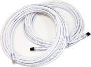 Lot-2 10FT Augmented Cat6A UTP Cable MC10GE-MP-10-2