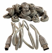 Lot-26 5Ft USB A-B Printer Cable New USB-Cable-L26