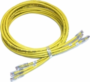 Lot-3 10FT Augmented Cat6A UTP Cable MC10GE-MP-10-3