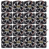 Lot-35 AVC 60x10mm 12VDC 3-Wire Fan C6010B12M-L35 Ball Bearing 12vDC 0.15a