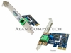 LSi HP 56k PCIe x1 AM3 Data Fax Modem New CONCORDE-C40