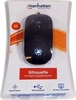 Manhattan Silhouette Optical USB Mouse Black New 177658
