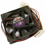 MaxFlow 12v DC 0.12a 80x25mm Molex FAN Assy 8025MD1SPL Fan with Power Connector