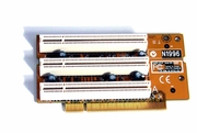 Micro-Star N1996 3-PCI Ver:1 Riser Card New MS-5988 Ver 1 Expansion Card