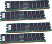 NEC 4GB (4x-1GB) PC2100R ECC Reg Memory New NV4401-152 for Expr5800-1020BA Server