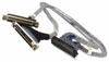 NEC HD50f-to-HD50f Int 4.5ft SCSI Cable 808-744621-001A 808-744621-001-A/ NF10006400