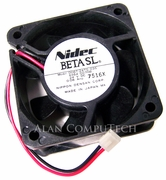 Nidec 24v DC 0.08a 60x25mm 2-Wire Fan D06T-24TG-03S