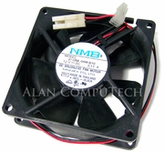 NMB 12v DC 0.11a 2-Wire 3Pin 80x25mm 12in Wire Long FAN Brushless 3110NL-04W-B10