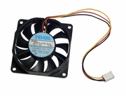 NMB 12v DC 0.30a 70x15mm 3-Wire FAN 2806FL-04W-B59