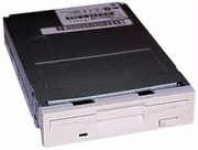 Panasonic 1.44MB 3.5in White Floppy Drive JU-256A216P
