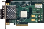 PMC 4-FC QX4 with 4-GBIC PCIe 4GB Card HHBA-6420C-S01