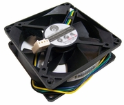 HP 12v 80x25mm 4Pin 4-Wire 0.50a Fan PLA08025S12HH-1-LV