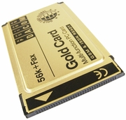 Psion DACOM 56k-Fax Gold Card No Cable New S97-2517-2 GSM & ISDN Ready S-97-2517-2