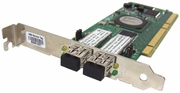 Qlogic 2GB 2xFC Port 64 Bit 133Mhz  PCI-x Adapter QLA234 Dual Port Host Adapter Card