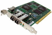 QLogic 2GB Dual Channel FC PCI Adapter Card QLA2302F 64-BIT/66Mhz QLA2302F/66
