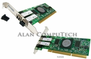 Qlogic SANBlade 4GB PCIx FC Dual Ports HBA Card QLA2462 FC2410401-20 Adapter Card