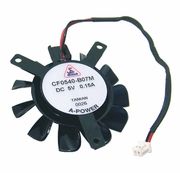 Sam Lam 5v DC 0.15a 2-Wire 35mm Fan Only CF0540-B07M