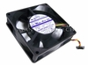 Sanyo 12v DC 0.14a 3-Wire 90x25mm FAN 109P0912F401 Sanyo Denki DC Mini Ace 25