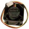 Sanyo 12v DC 0.195a 3-Wire 40x28mm FAN 109P0412H342 3-Pin NEC 802-860168-202-A