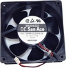 Sanyo 12v DC 0.52a 2-Wire 120x38mm FAN 109R1212H116 San Ace SanyoDenki Brushless