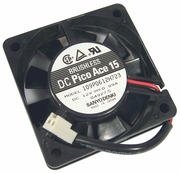 Sanyodenki 0.9a DC 60x15mm 12v 2-Wire FAN 109P0612H723