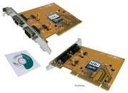 SIIG CyberPro Dual Serial PCI Adapter CYBERPRO-PCI-2S