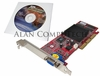 SIIG GF2 MX200 AGP-VGA 32MB V06-A2 Card New VV-AAG212 VGA-GWV06-A GeForce2 MX200