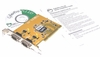 SIIG Serial Dual Port PCI Adapter Card New JJ-P020K3