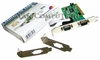 StarTech PCI 2-Port DB9 Serial Card NEW PCI2S550 MP9835L 2-LP Braket Retail