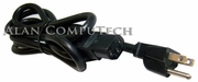 Sun 15a 125v Black 8ft Power Cord 180-1097-01 LL57855 - WS-002 Cable