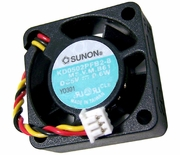 Sunon 0.6w DC 5v Y0301 CPia 25x10mm Fan KD0502PFB2-8 Dell Exhaust 22NUX V2