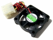 Sunon 12v DC 07w 45x10mm Molex Fan KDE1245PFB2-8 2-Wire 4-Pin Power FAN Assy