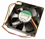 Sunon 12v DC 1.0w 20x80mm 3-Wire Fan KD1208PKB3-CLX 3-Pin 13.2.F.GN