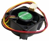 Sunon 12v DC 1.6w 20x40mm 3-Pin 3-wire Fan KD1204PKVX